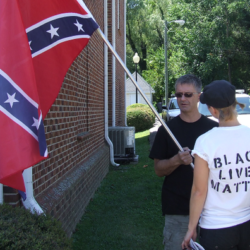 Having Conversations with Confederate flag holders